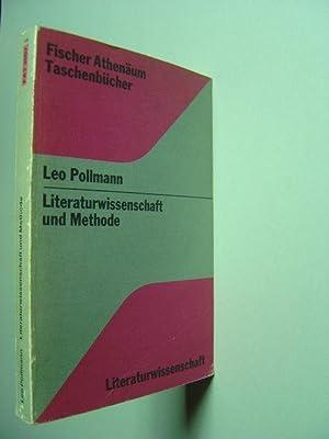Literaturwissenschaft und Methode.: Pollmann, Leo.