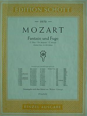 Fantasie und Fuge. C dur. KV 394.: Mozart, Wolfgang Amadeus.