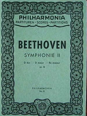 Symphonie II. D dur. Op. 36. Taschenpartitur.: Beethoven, Ludwig van.