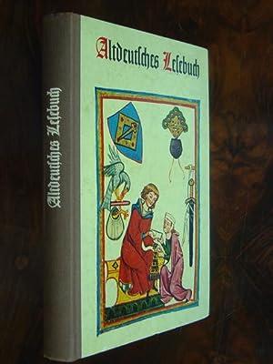 Altdeutsches Lesebuch. Bearbeitet von Kurt Bona. Mit: Lesebuch.