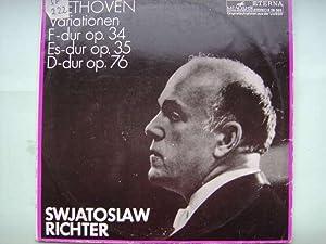 6 Variationen F dur, op. 34 /: Beethoven, Ludwig van.