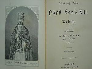 Unseres heiligen Vaters Papst Leo's VIII. Leben.: Schlichter, Heinrich.