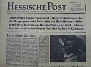 Hessische Post 23. Juni 1945 Nummer 9