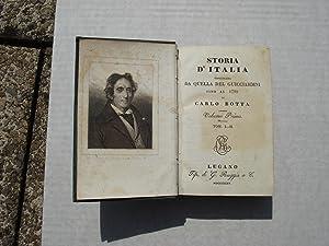 Storia d'Italia continuata da quella del Guicciardini sino al 1789, Vol 1 Tom. I - II, Vol 2 ...