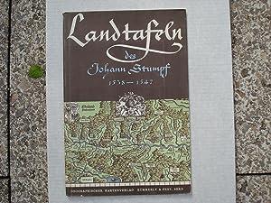 Die Landkarten (Titelschild: Landtafeln) des Johann Stumpf.: Weisz Leo, Hrsg