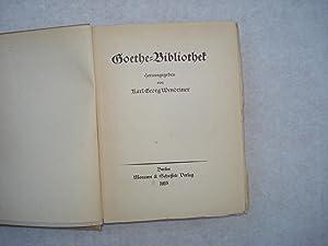 FAUST-DICHTUNG - Goethe-Bibliothek in vier Bänden: Die Faustdichtung vor, neben und nach ...