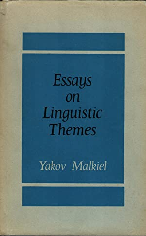 Essays on Linguistic Themes