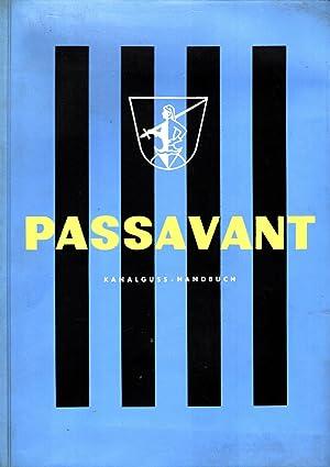 Passavant Kanalguss-Handbuch S 59 (Ausgabe November 1959): Passavant-Werke Michelbacher Hütte
