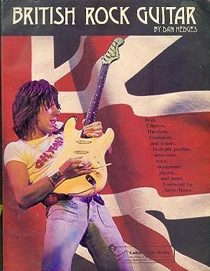 British Rock Guitar: Hedges, Dan