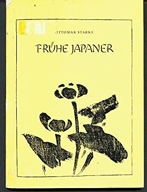Frühe Japaner. Buch-Illustrationen von Moronobu, Morikuni, Shunboku,: Starke, Ottomar