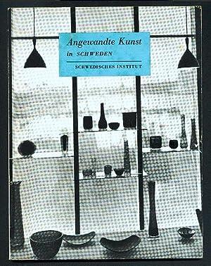 Angewandte Kunst in Schweden. Einl. v. Arthur: Hald, Arthur (Einleitung);
