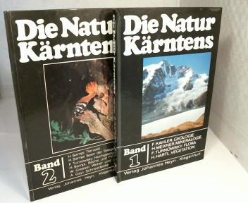 Die Natur Kärntens. Band 1 und Band: Kahler, F., H.
