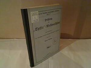 """Prüfung der """"Thistle""""-Melkmaschine. Auf Veranlassung der Deutschen: Martiny, Benno."""
