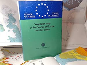 Vegetation Map of the Council of Europe Member States. Scale 1/3000000. (= Nature and Environment...