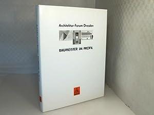 Baumeister im Profil. [1.] Architektur-Forum Dresden.: Krichbaum, J., Lampugnani,