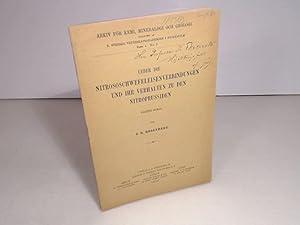 Über die Nitroschwefeleisenverbindungen und ihr Verhalten zu: Rosenberg, J.O.