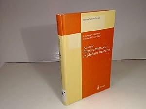 Atomic Physics Methods in Modern Research. Selection: Jungmann, K., Kowalski,