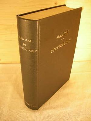 Manual of Pteridology. Nachdruck der Ausgabe von: Verdoorn, F. (Editor).