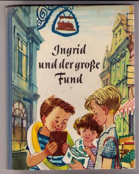 Ingrid und der große Fund: George , Heinz