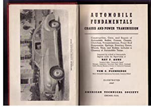 Automobile Fundamentals - Chassis and Power Transmission: Kuns, Ray F.