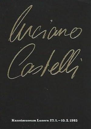 Luciano Castelli. Einladungskarte / Invitation Card.: Castelli, Luciano: