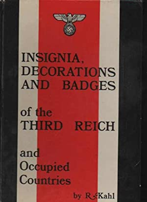 Kahl Klietmann Insignia, decorations and badges of