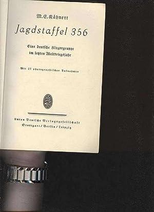 Kähnert Jagdstaffel 356 1. Weltkrieg, 96 Seiten,