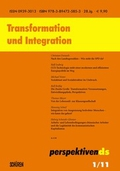 Transformation und Integration;