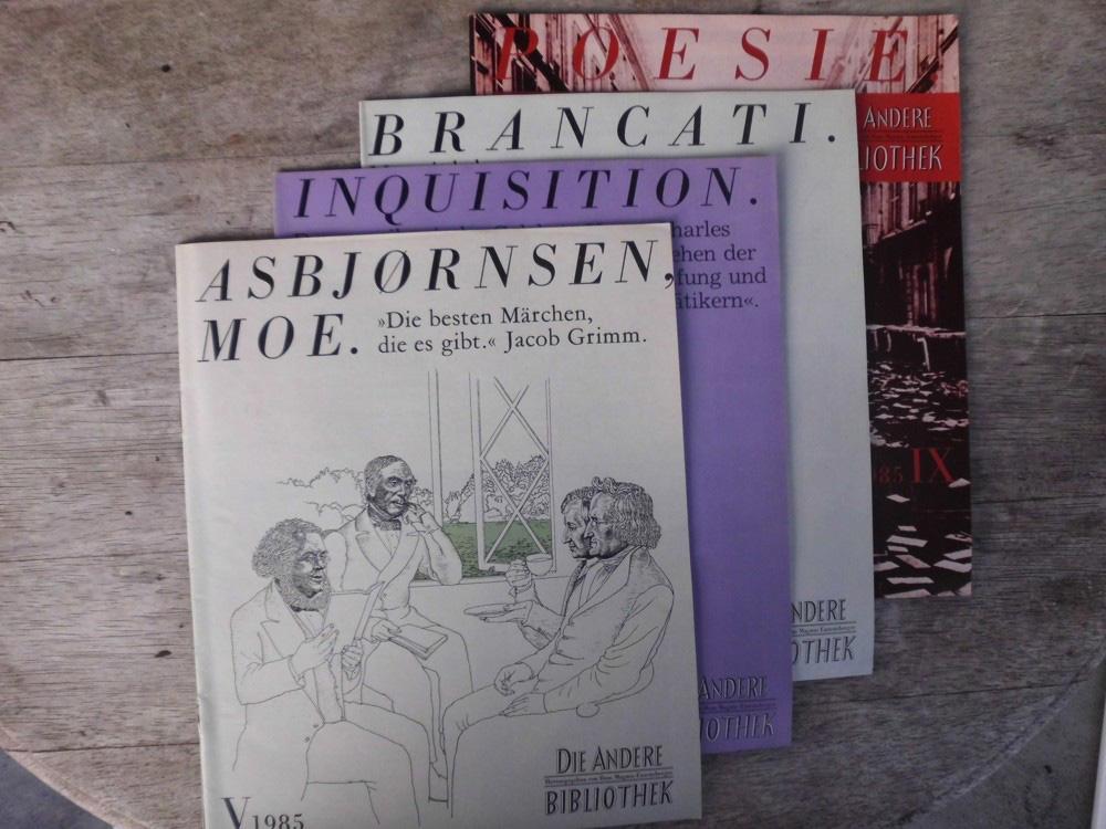 26 Magazine der Anderen Bibliothek (von den: Kaiser, Reinhard (Hrsg.):