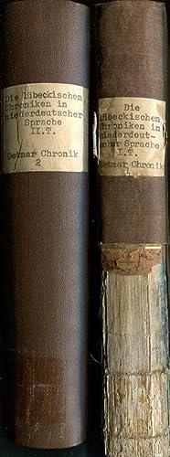 Chronik des Franciscaner Lesemeisters Detmar, nach der Urschrift und mit Ergänzungen aus andern ...