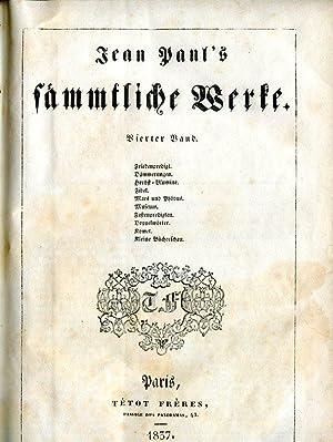 Jean Paul's sämmtliche Werke (Pariser Ausgabe deutscher Classiker). 4 Bdd.: Jean Paul (d. i. ...