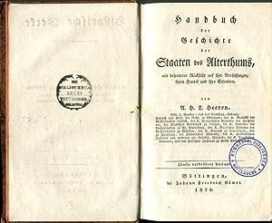 Handbuch der Geschichte der Staaten des Alterthums, mit besonderer Berücksichtigung auf ihre ...