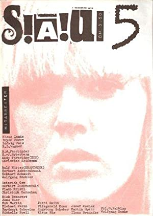 S!A!U! Spezial-Autoren-Union. Verantwortlicher Redakteur: Ulrich Greiwe.