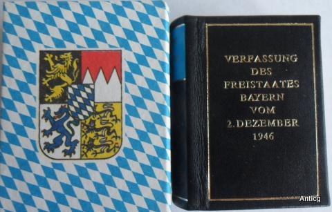 Verfassung des Freistaates Bayern vom 2. Dezember