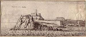 Elisabeth Castle in Iarsey.: Hollar, Wenzel (1607-1677):