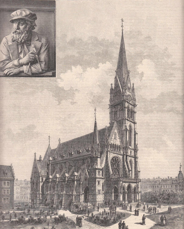 Die Herz-Jesu-Kirche in Graz, erbaut von Prof.: Graz,