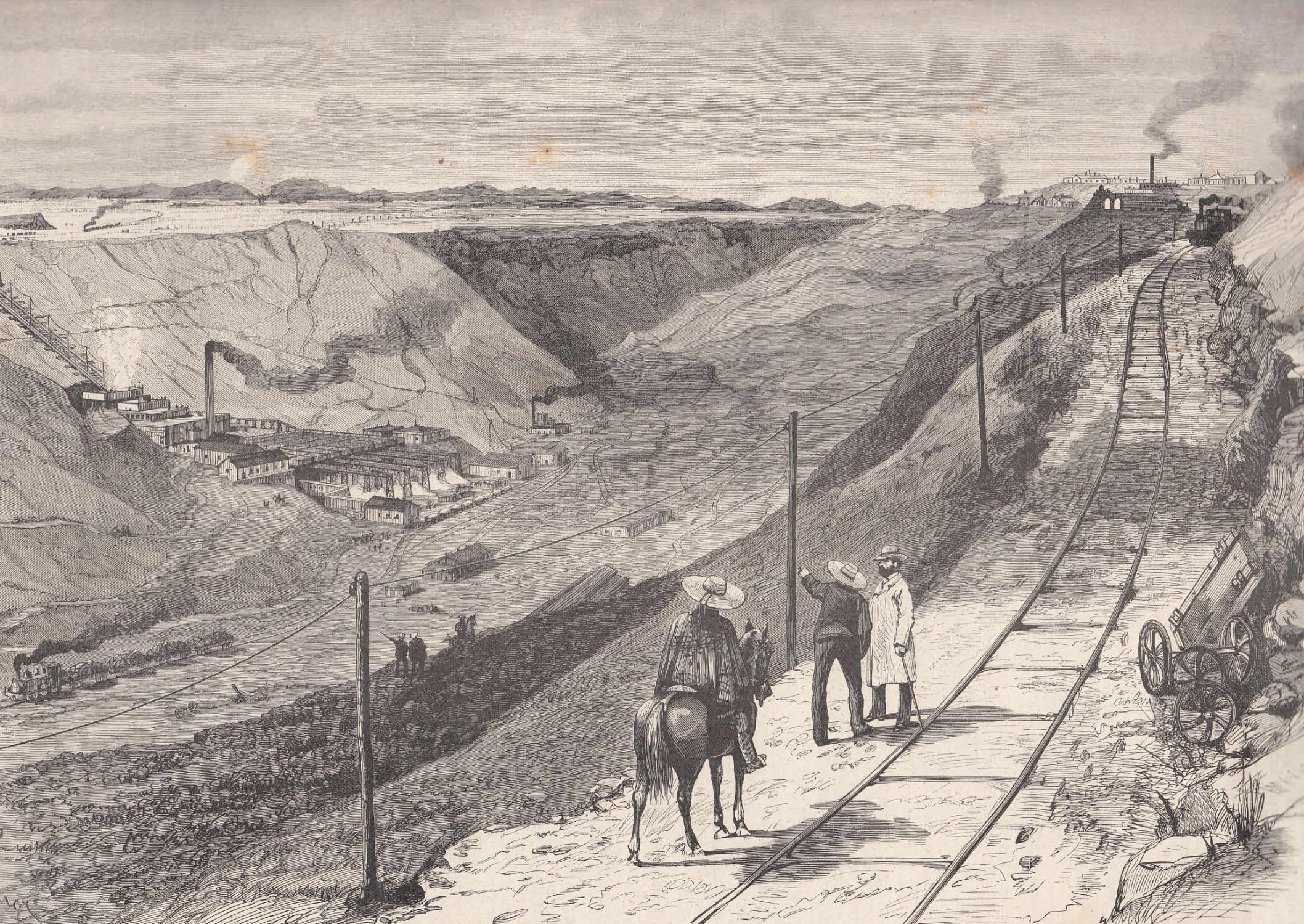 Salpeter Werke In Chile Natronsalpeter Caliche Ansicht Von