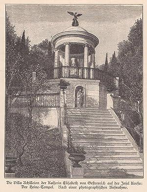 Die Villa Achilleion der Kaiserin auf der: Elisabeth, Kaiserin v.