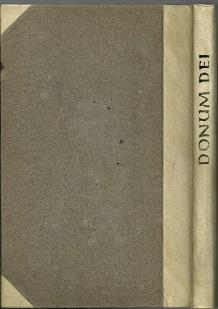 Donum Dei.: Pinsk, Johannes [Widmungsexemplar!]: