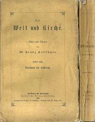 Aus Welt und Kirche. Bilder und Skizzen.: Hettinger, Franz: