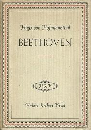 Beethoven. Rede, gehalten an der Beethovenfeier des: Hofmannsthal, Hugo von: