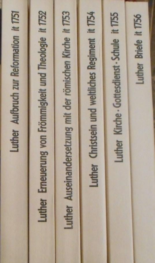 Briefe Von Luther : Martin luther werke von bornkamm zvab