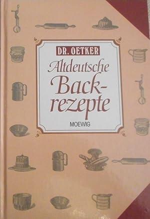 Die schönsten Backstubenrezepte. Dr. Oetker. [Red.: Gisela: Knutzen, Gisela (Red.)
