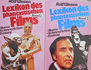 Lexikon des phantastischen Films. Horror, Science Fiction, Fantasy. Band 1 und 2.