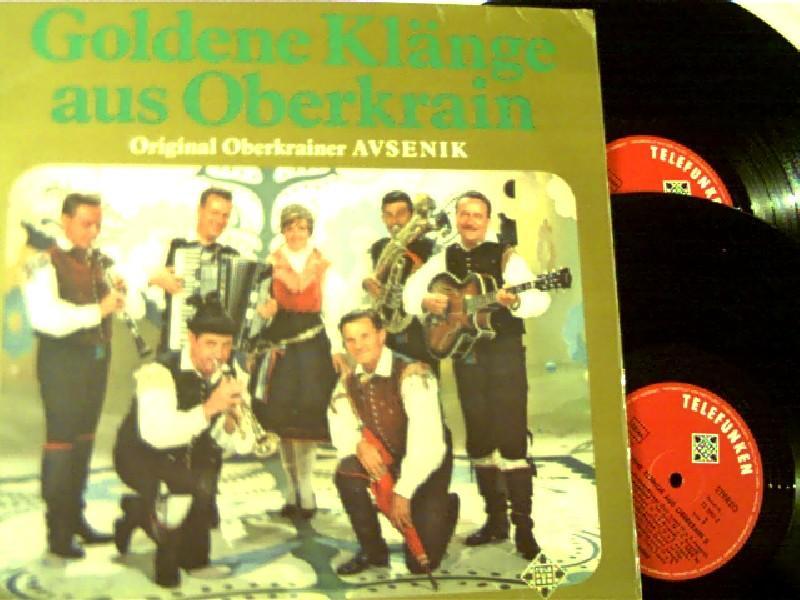 Goldene Klänge aus Oberkrain, (2 LP -: Slavko Avsenik und