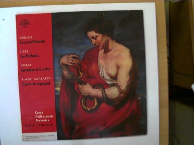 CAPRICCIO ESPAGNOL OP34      STUDY SCORE Edition Eulenburg