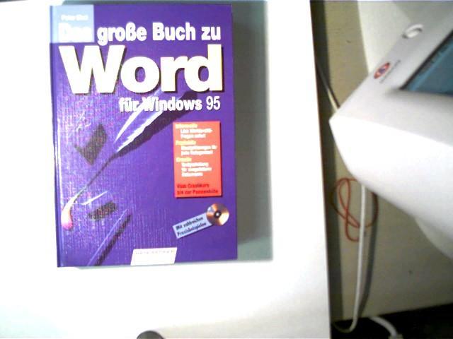 Das große Buch zu Word für Windows 95, Vom Crashkurs bis zur Pannenhilfe; - Ebel, Peter
