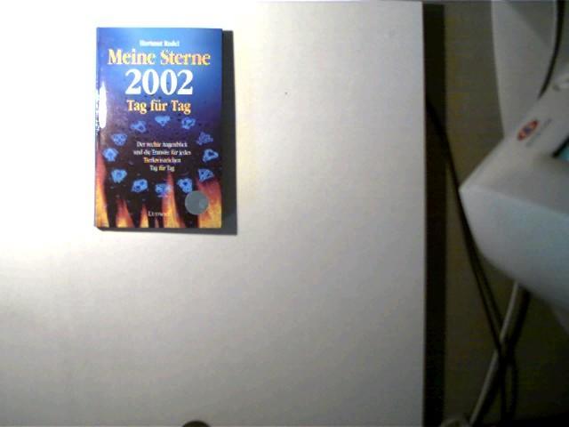 Meine Sterne 2002 Tag für Tag, Der rechte Augenblick und die Transite für jedes Tierkreiszeichen Tag für Tag, - Radel, Hartmut
