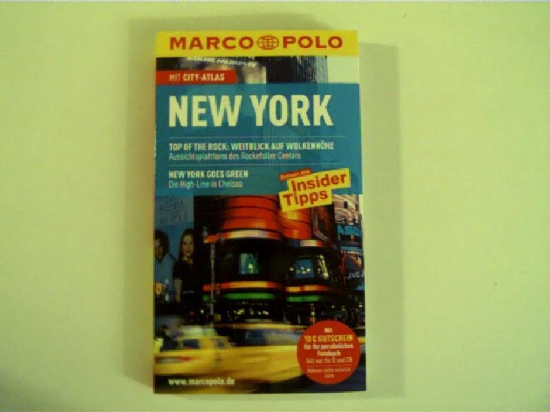 New York, Reisen mit Insider-Tipps, mit City-Atlas, - Chevron, Doris und Alrun [Bearb.] Steinrueck