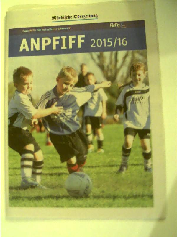 anpfiff 2015 16 magazin fur den fussballkreis autorenkollektiv
